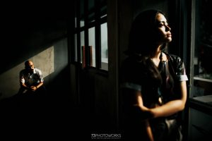 prewedding casual indoor unik