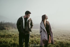 prewedding casual outdoor